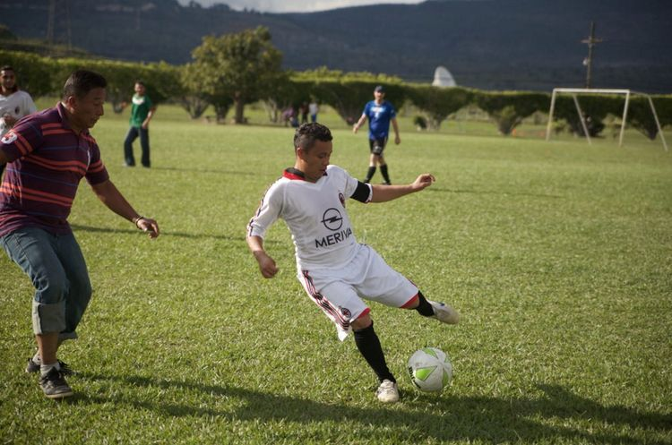 Tegu soccer tournament in Tegucigalpa, Honduras