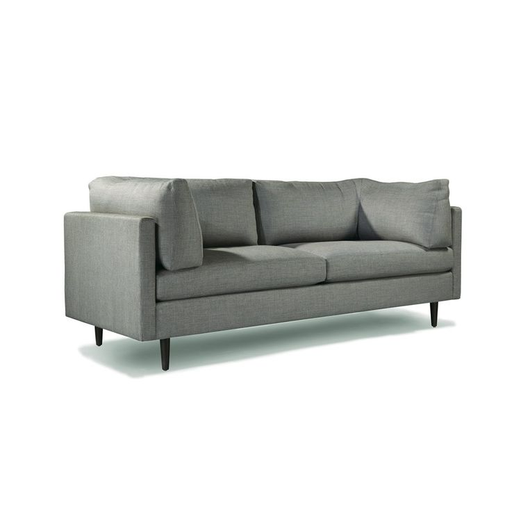Refined sofa with ultraplush cushions