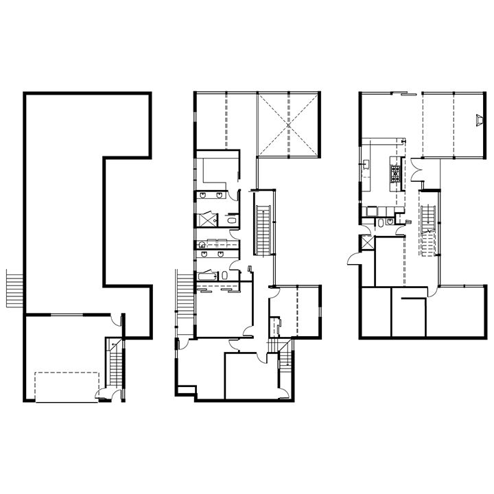 modern renovation aqua lair floor plans