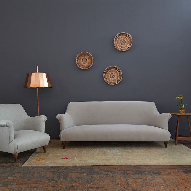 Modern sofa inspired by bohemian glamour