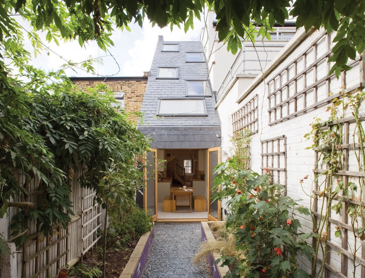 Slim House by Alma-nac Collaborative Architecture in London, 2012