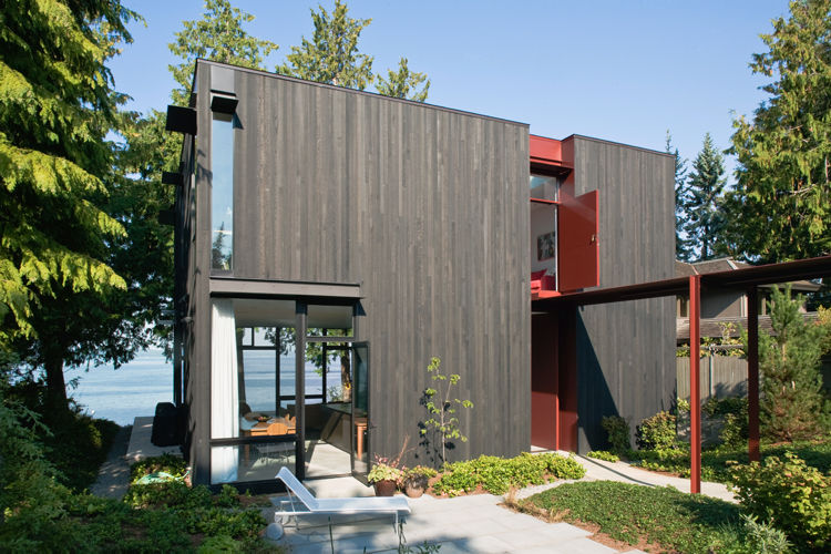 Seattle modernist house by Tom Kundig