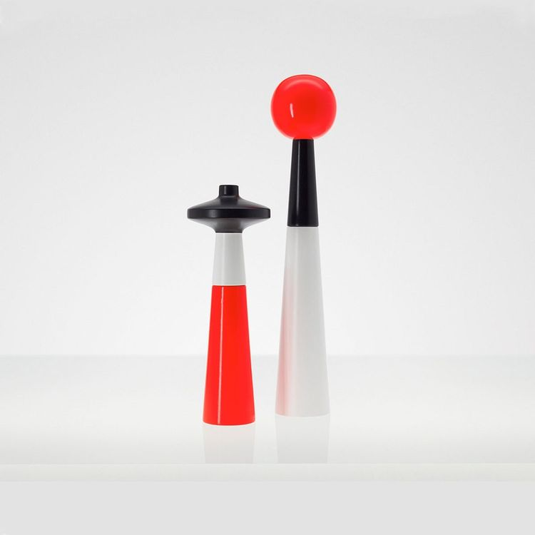 Tower salt and pepper grinders by Tom Dixon