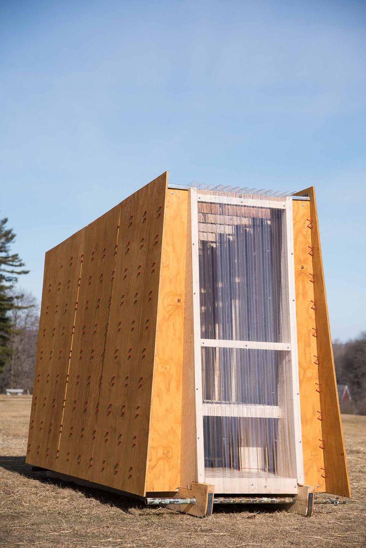 Ice shanty by TruexCullins Architecture + Design