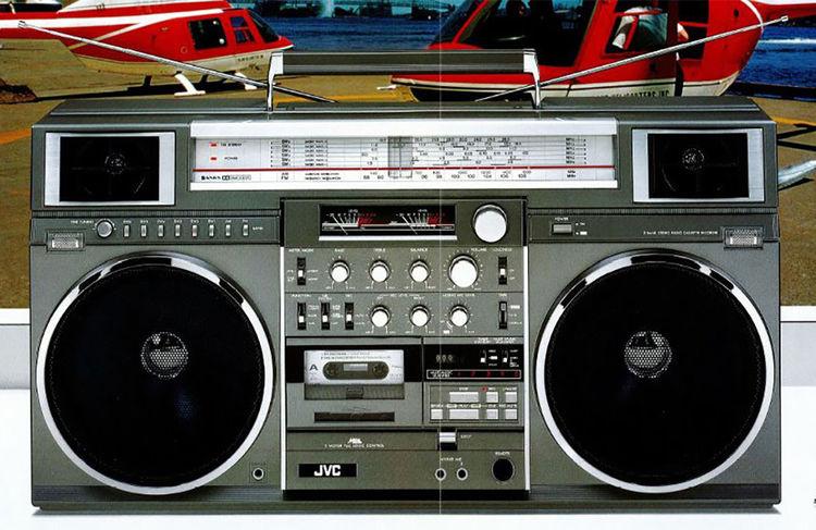 JVC RC-M90 boom box