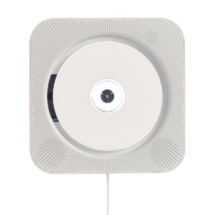 Wall-mounted CD player by Naoto Fukasawa for Muji