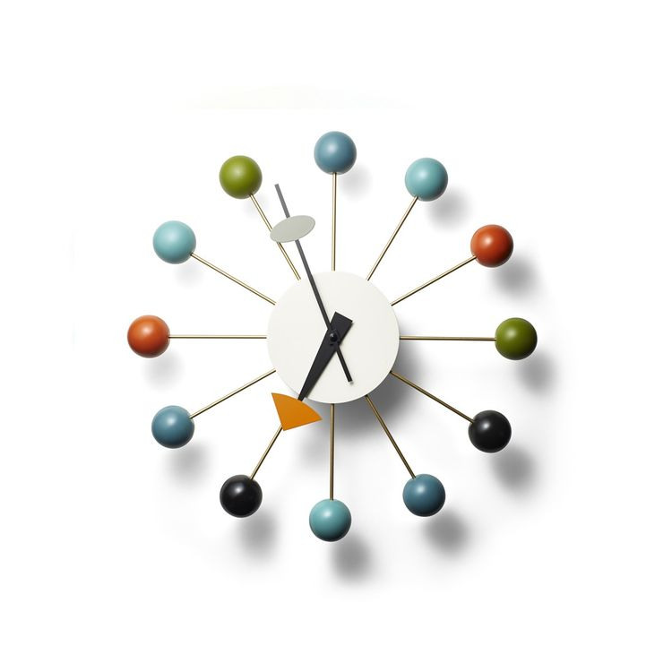 Iconic midcentury wall clock from George Nelson