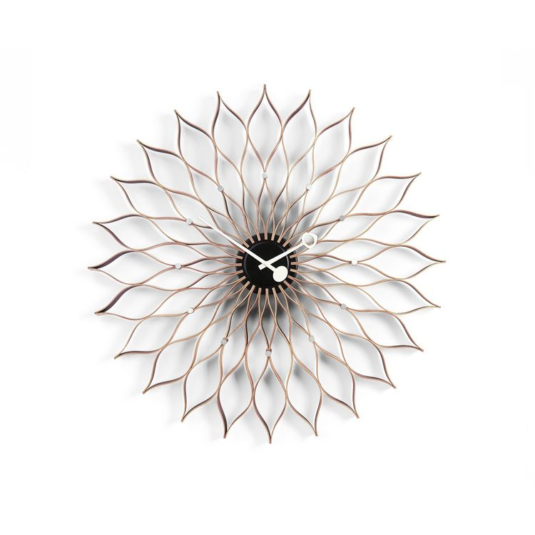 George Nelson Wall Clock in sunflower shape