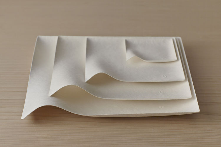 Kaku Plates by Shinichiro Ogata for Wasara