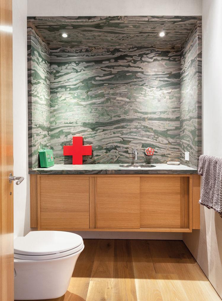 Bathroom in San Francisco renovation by Erica Severns.