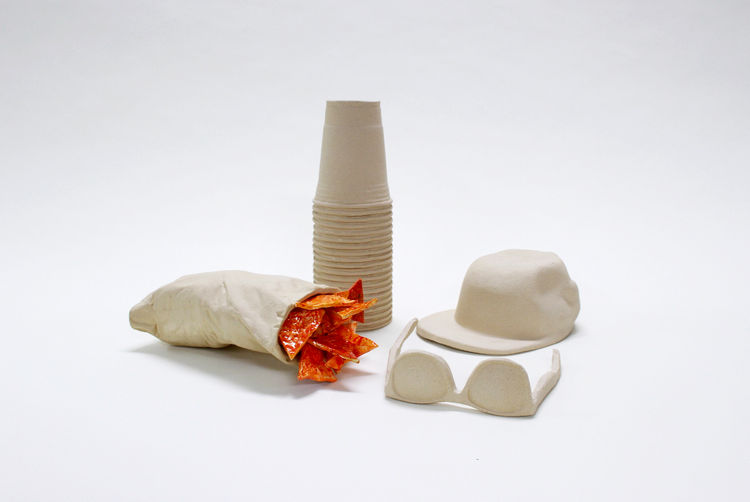 Wyatt Little Beach Stuff ceramics from the exhibition NYCxSkymall