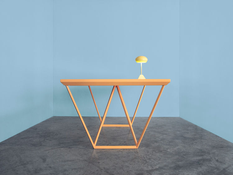 Solar cell table by Marjan van Aubel.