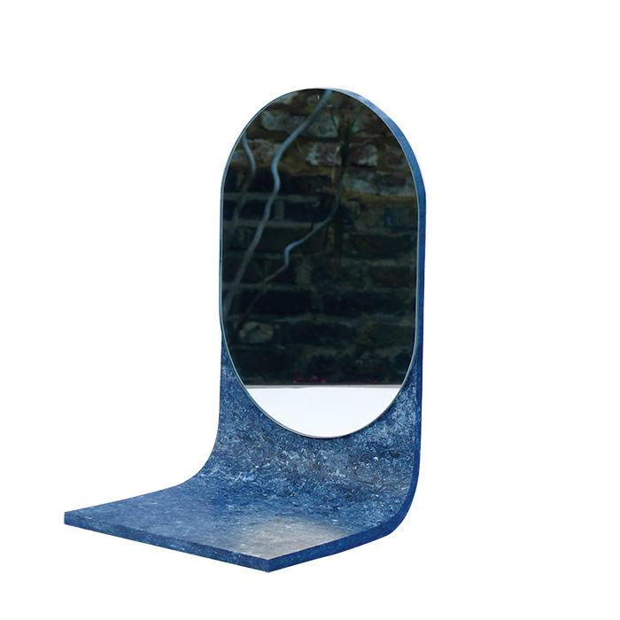 young Guns 2015 Laetitia de Allegri designed ISH mirror with Matteo Fogale