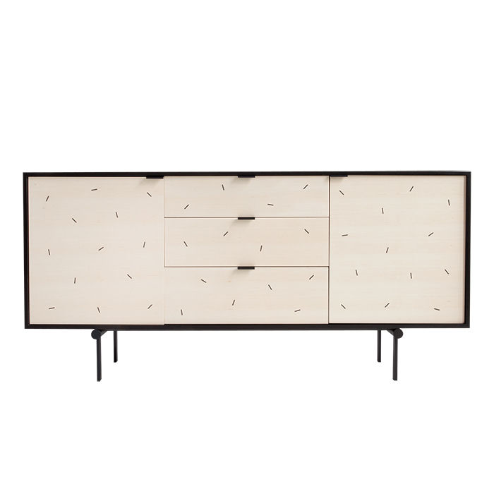 Young Guns 2015 Syrette Lew's Moving Mountains from New York designed the confetti credenza