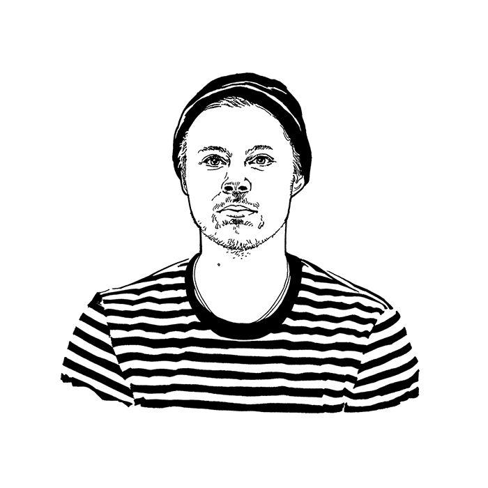 Young Guns 2015 Olli Mustikainen from Helsinki illustration