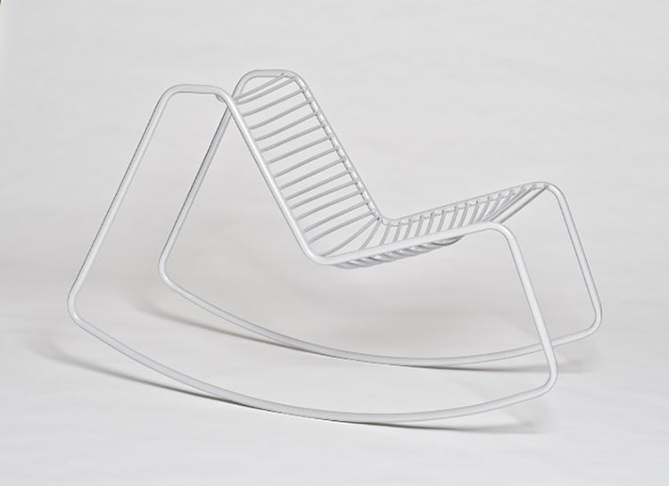 Young Guns 2015 Olli Mustikainen from Helsinki designed the Liito Rocking chair