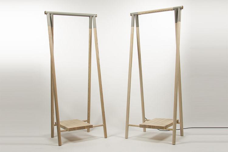 young Guns 2015 Olli Mustikainen from Helsinki designed the narikka garment rack
