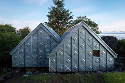 Midden Studio zinc facade