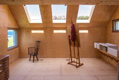 Midden Studio skylights