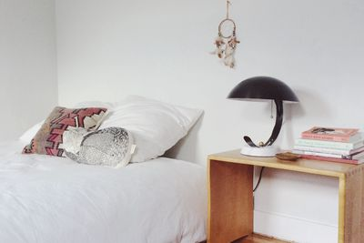 Oakland bedroom with vintage finds