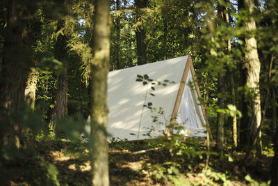 Outdoor prefab camping unit from Lushna.
