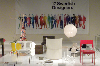 17 Swedish Designers exhibition