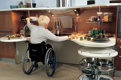Snaidero Skyline Universal Design Kitchen