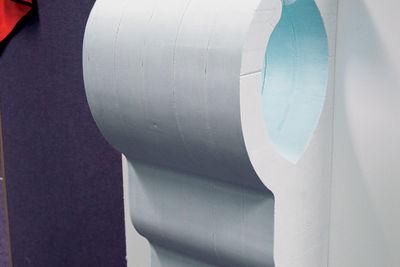 dyson airblade foam model