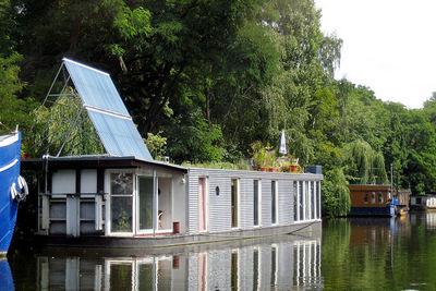 modern water house