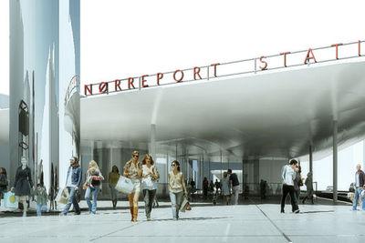 norreport COBE rendering