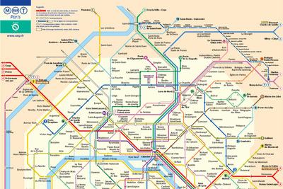 parismetro map