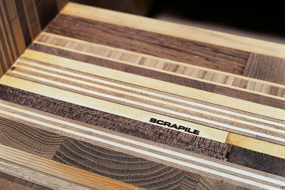 scrapile wood detail