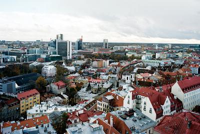 tallinn estonia aerial