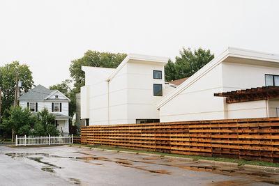 brachers house exterior side