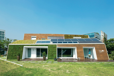 green home in Seoul, South Korea