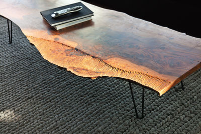 Samuel Moyer walnut coffee table
