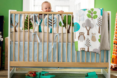 Crib set by DwellStudio
