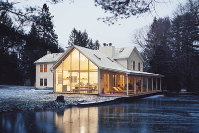 farmhouse renovation in Eldred, New York