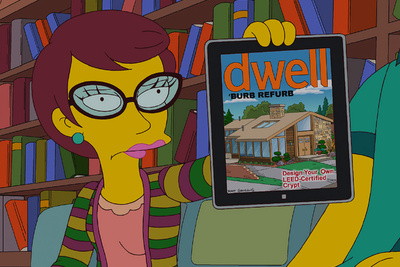 dwell simpsons