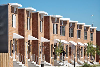 Baltimore Habitat for Humanity prefab row house