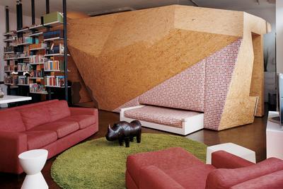 hive loft living room
