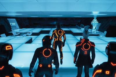 tron set design portrait