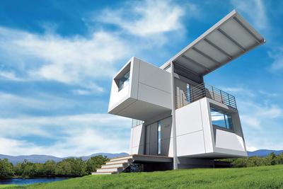 zero house exterior