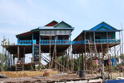 cambodia stilts blue  0