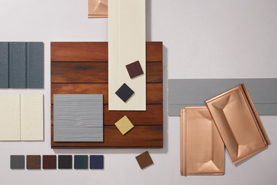 house siding assortment