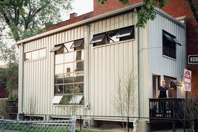 walz house exterior portrait