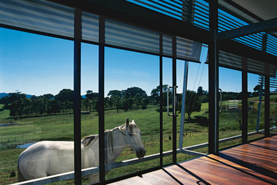 kropach catlow house living room view to pasture 2