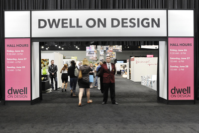 dwell on design exhibition entrance  0