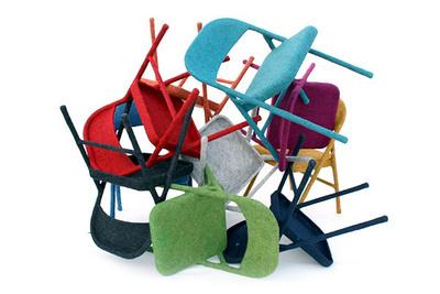 aguiniga felt chairs