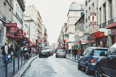 paris france city street